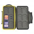 JJC MC-SDMSD24 Water-Resistant Holder Storage Memory Card Case-1